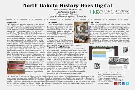 North Dakota History Goes Digital