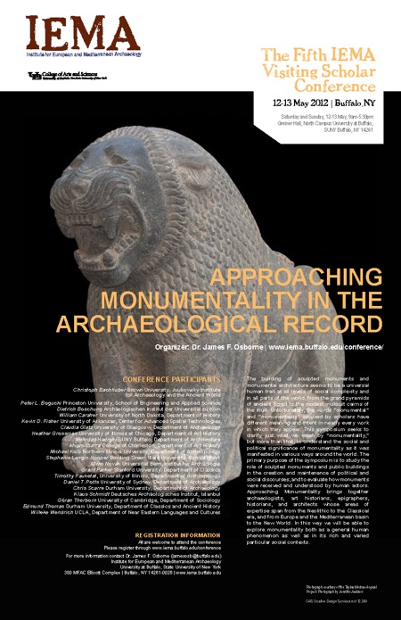 2012 Monumentality Conference Poster