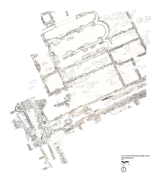 Jpg E F2 Late Antique Plan with Burials final  1