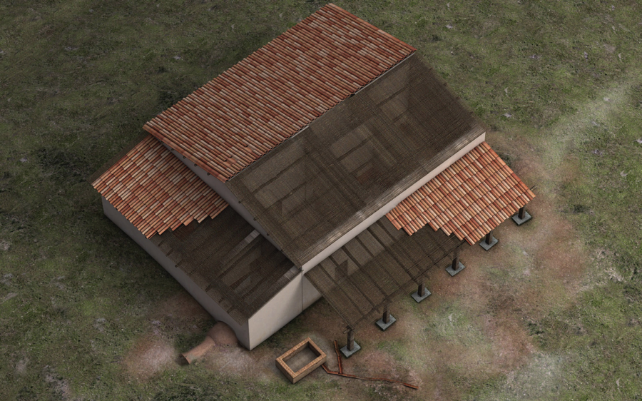 A Late Roman Farmhouse Near Metaponto The Archaeology Of