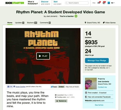 KickstarterRhythmPlanet