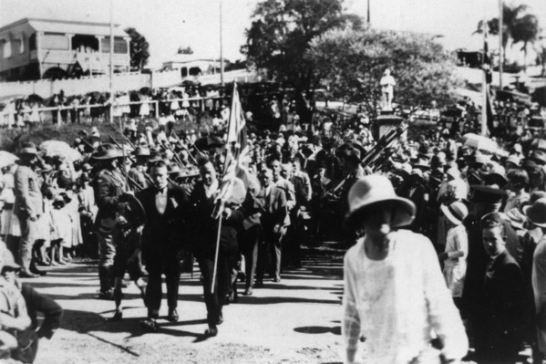 ANZAC Day at Manly 1922
