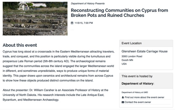 Reconstructing Communities on Cyprus from Broken Pots and Ruined Churches