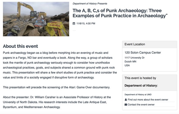 The A B C s of Punk Archaeology Three Examples of Punk Practice in Archaeology