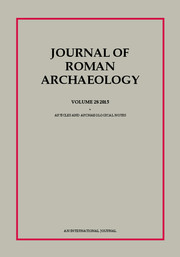 Journal of roman archaeology