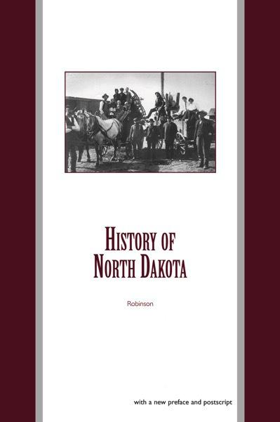 History of north dakota cover