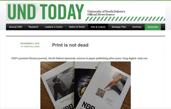 Print is not dead  UND Today 2018 11 07 06 45 43
