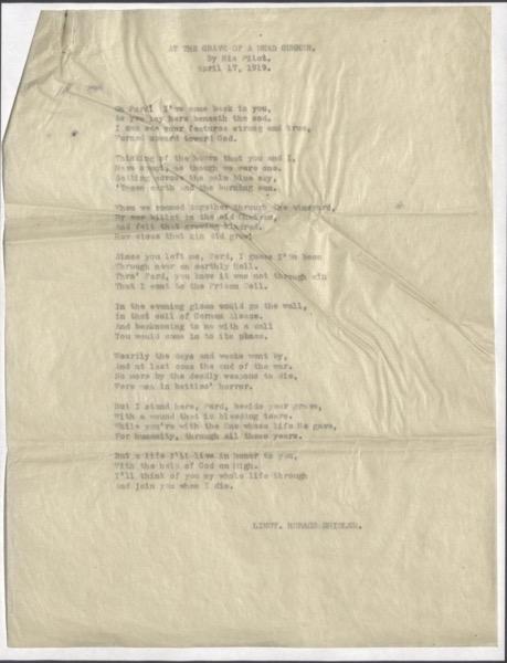 Sayre Poem