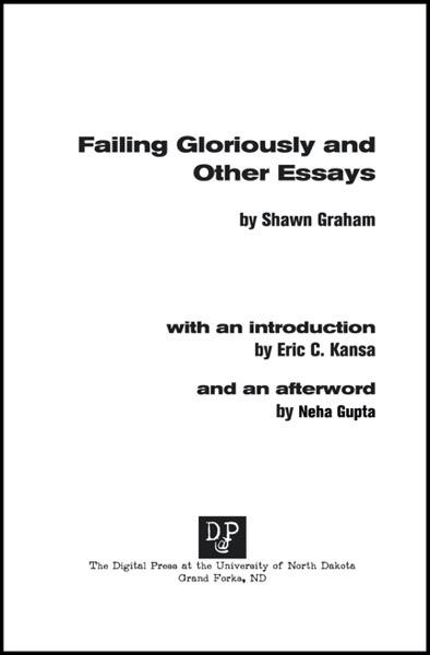 FAILING GLORIOUSLY DRAFT1 10 21  DRAGGED