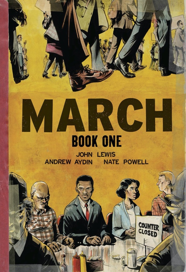 March John Lewis Andrew Aydin Nate Powell  March March Series Book 1 Top Shelf Productions  2013